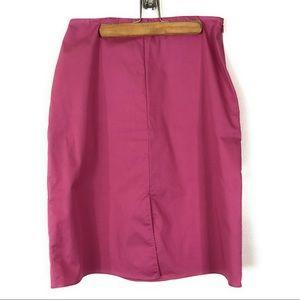 Banana Republic Pink Stretchy Pencil Skirt